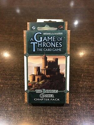 A Game of Thrones THE BANNERS GATHER Chapter pack Fantasy flight LCG