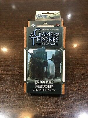 A Game of Thrones FORGOTTEN FELLOWSHIP Chapter pack Fantasy flight LCG