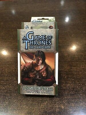A Game of Thrones A POISONED SPEAR Chapter pack Fantasy flight LCG