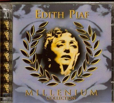 2CD Edith Piaf - Millenium Collection GREATEST HITS  ( 2 AUDIO CDs )