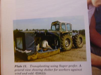 Forestry Tractor Seed Drilling Equipment Sappling Growing Protection Timber Book