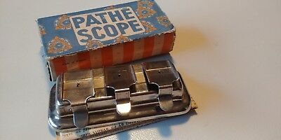 Pathescope 9.5mm film mender, part 139. Complete with manual