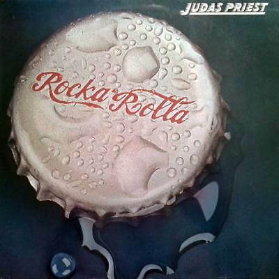 Metal LP 31 - JUDAS PRIEST - ROCKA ROLLA - Gull D 1974 - EX
