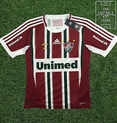 Fluminense Home Shirt - Rare Brazilian adidas Boys Football Jersey - All Sizes