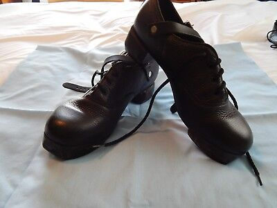Irish Dance Hard Shoes - Light Sole Flexi by Rutherford, Size 5 1/2 Womens