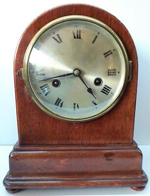Antique French Striking Mantle Clock, Good working order