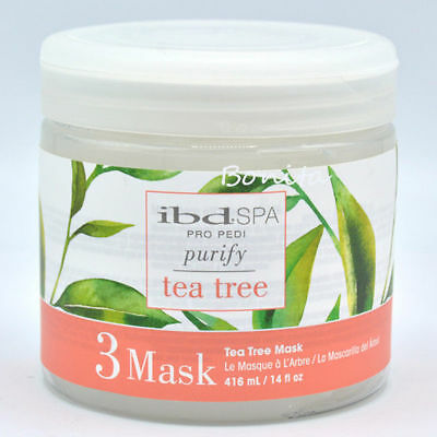 IBD Spa Pro-Pedi Purify Tea Tree 3 Mask 14 oz