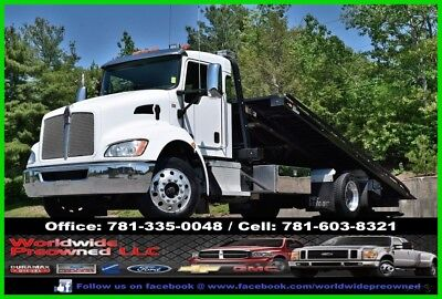 2016 Kenworth T270 Roll Back Ramp Truck Wrecker Tow Paccar PX7 6.7L Diesel Used