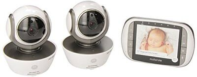 Motorola MBP853CONNECT-2 Dual Mode Baby Monitor with 2 Cameras and 3.5-Inch LCD,