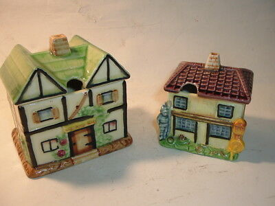 A Pair of Marutomo Ware Country Cottages