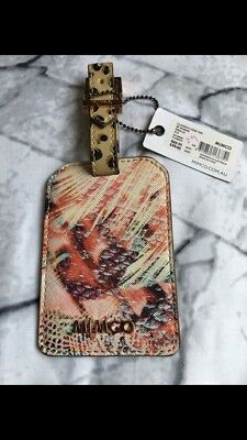 Mimco flamingo Luggage Tag