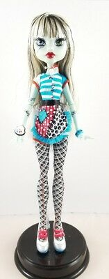Monster High Home Ick Frankie Stein Doll With Dress and Accessories Ring Fashion
