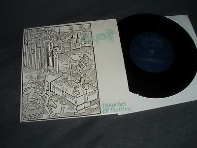 "INNER THOUGHT Disorder of Battles 7"" Swiss Death Metal 1992 (samael disgrace)"