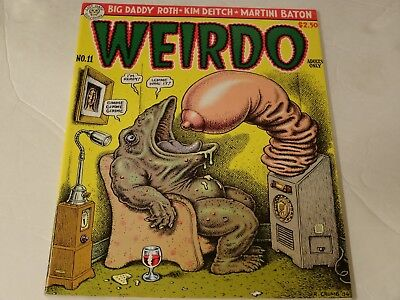Weirdo #11 VG+ condition Rare back issue 1984 1st printing