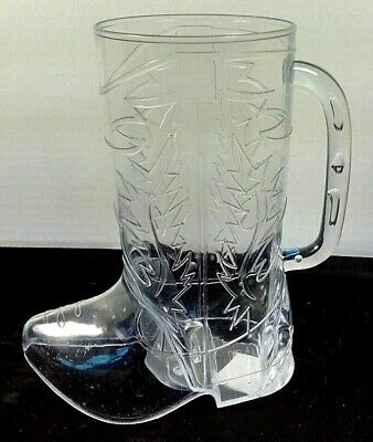 Cowboy Boot Plastic 17oz Mugs, Lot of 8 Brand New , Still in Package.party#H155