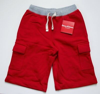 Hanna Andersson Boys Basics Skate Shorts Size 120 (6-7 year) Brand New Red