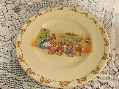 Royal Doulton Wonderful Bunnykins Display Plate.