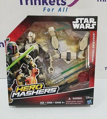 Star Wars Hero Mashers Episode III General Grievous Action Figure