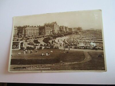 Postcard of General View from Wish Tower, Eastbourne 44 (RP Posted 1931