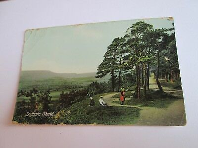 Postcard of Leyburn Shawl (Unposted Frith's)
