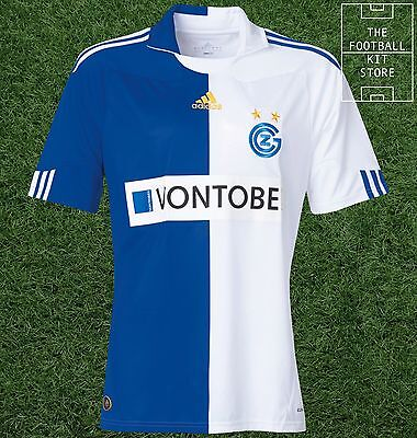 Grasshoppers Zurich Home Shirt - Official Adidas Football Jersey - All Sizes