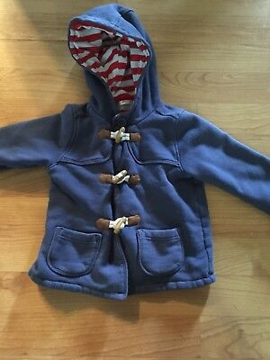 BABY BODEN 18-24 MONTHS Blue  JACKET TOGGLES