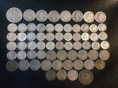 Old US Silver Coins lot