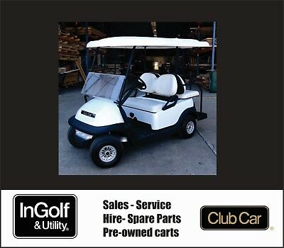 DEMO Club Car Villager 4 Resort Four Seat Electric 48V Golf Cart Buggy Buggie
