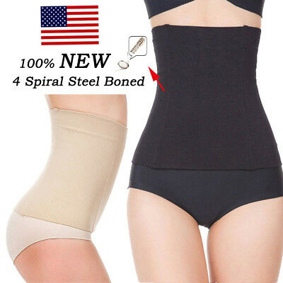 US Postpartum Belly Recovery Band After Baby Tummy Tuck Belt Body Slim Shaper LT