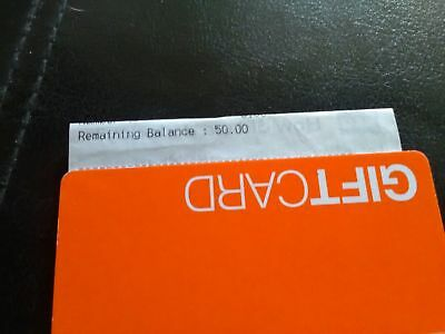 £50 B&Q gift card. Receipt included
