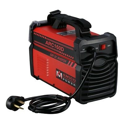 ARC-160D 160 Amp Stick Arc DC Inverter Welder 110V 230V Dual Voltage Welding