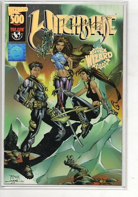 Witchblade 500 Varient, Signed by Writer Christina Z, COA NM or Better C64