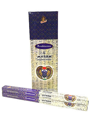 Frankincense and Myrrh Kamini Incense Sticks Box Value Pack (200 sticks)