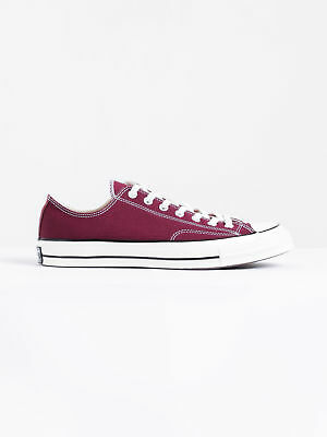 New Converse Mens Chuck Taylor All Star Low Top Sneakers In Obsidian Red Mens