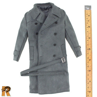 WWII Allies Flying Officer - Grey Over Coat - 1/6 Scale - Vortoys Action Figures