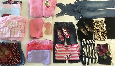Girls Clothes / Shoes Size 3 Bulk 27 Items GUC