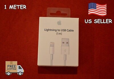 Lightning to USB Charger Cable for Apple iPhone X 8 7 Plus 6S 6 Plus 5 1m 3ft