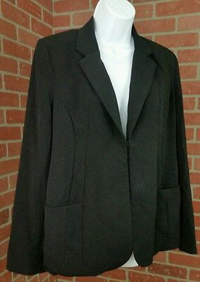 Motherhood Maternity Career Blazer/Jacket Black One Clasp Size Small NWT