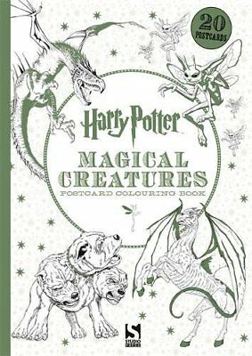 Harry Potter Magical Creatures Postcard Colouring Book: 20 postcards to colour (