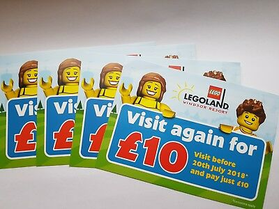 X4 Legoland Windsor Resort Visit Again For £10 Vouchers (visit before 20th July)