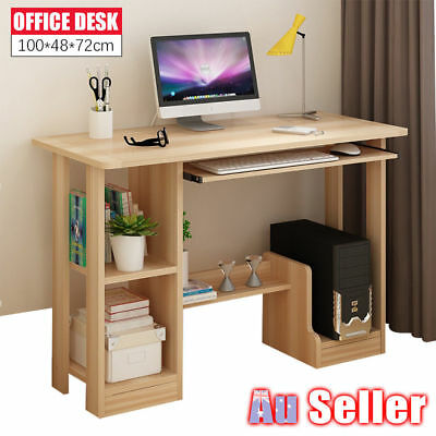 Home Office Study Student PC Computer Wood Metal Desk Furniture Laptop Table NEW
