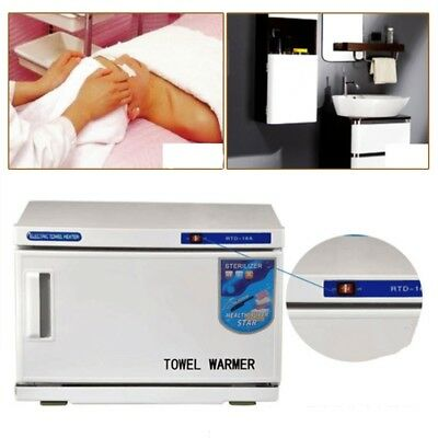 Towel Warmer Cabinet Disinfection UV Sterilizer Spa Beauty Salon Equipment,