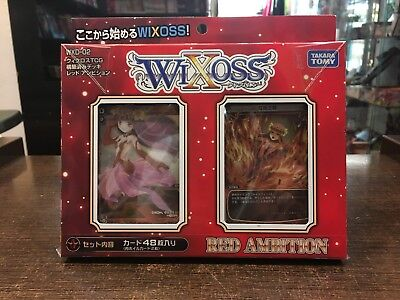 WIXOSS Red ambition WXD-02 Structure deck Baraja TAKARA TOMY JAPANESE