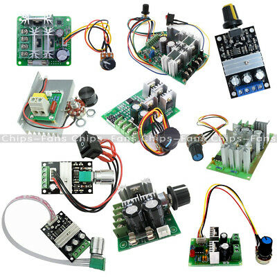3/10/15/20A PWM 6-28V/10-60V/6-60V/12-40V/6-90V/12V Motor Speed Controler Switch