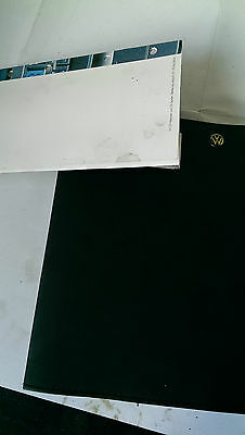 V/W Volkswagen Golf Hand Book Owners Manual Drivers Guide  Mk4 3 door