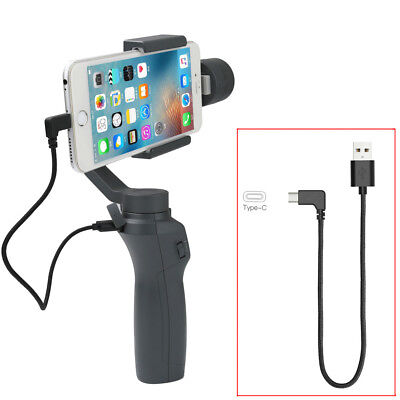 DJI OSMO Mobile 2 Gimbal Handheld Stabilizer Type-C Cable Adapter USB Charging