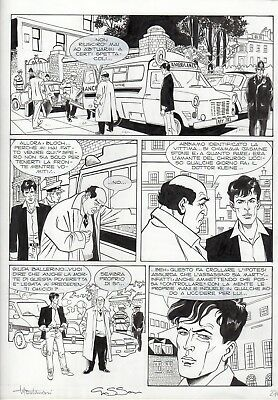 Montanari & Grassani - Tavola Originale Dylan Dog - 'Le Mani Assassine'