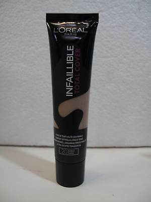 L'OREAL - INFAILLIBLE TOTAL COVER - n° 20 sable sand   35g.