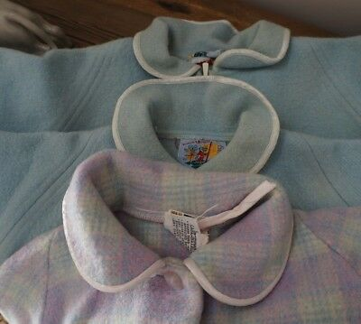 Vintage Pure Wool . Children's Dressing Gowns . Cutters . TLC . Fixer-up