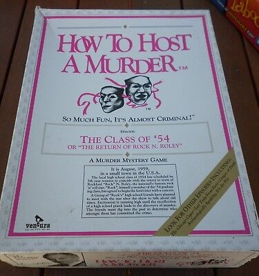 How To Host A Murder - The Class Of '54 Rock & Roll, New Unused